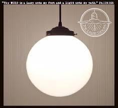 large pendant lighting. Milk Glass PENDANT Light Large Globe 10\ Large Pendant Lighting