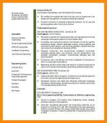 Civil Engineer Resume Template Civil Engineering Resume Template