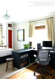 home office living room. Office Bedroom Combo Living Room Home Combination Decor Collection Exciting Guest
