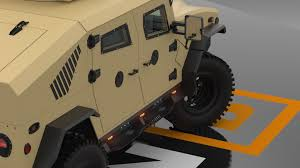 New Humvee Design New Hummer H1 Humvee Design Armored Ricochet Military