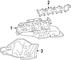 parts com® toyota tundra exhaust components oem parts diagrams 2011 toyota tundra sr5 v8 5 7 liter gas exhaust components