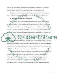 sustainability and environmental ethics admission application essay sustainability and environmental ethics essay example