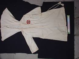 ku klux klan outfit gown search the collection spurlock museum ku klux klan outfit gown