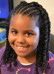 Afro Braid Hair Style natural afro hairstyles for kids ghanaculturepolitics 6004 by wearticles.com