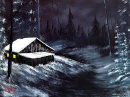 peaceful landscape paintings by bob ross bob ross oil paintings winter night 8