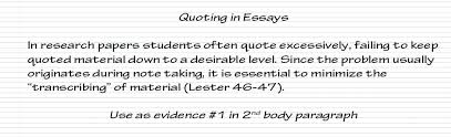 How To Cite A Quote In An Essay quotes essay avoid plagiarism quoting paraphrasing and summarizing 14