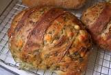 bread machine spinach and feta bread