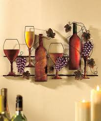 wine grapes metal wall hanging vineyard kitchen home decor ebay on wine and grapes metal wall art with wine grapes metal wall hanging vineyard kitchen home decor ebay