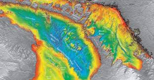 the study of mapping the seafloor