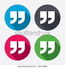 Quote Sign Adorable Quote Sign Icon Quotation Mark Symbol Stock Vector Royalty Free