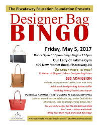 Designer Bag Bingo 2019 South Jersey Designer Bag Bingo 2019 Scale