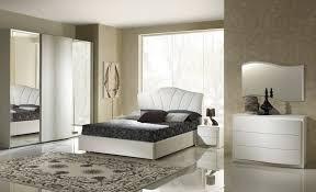 Schlafzimmer Set Canel In Weiß Modern Design 180x200 Cm Mit