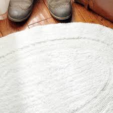 oval bath rugs gray crochet mat world market small white