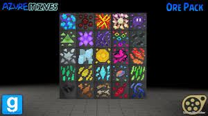 Dl Azure Mines Ore Pack By Mythicspeed On Deviantart