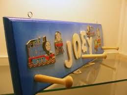 Train Coat Rack Train Theme Coat Rack Personalized Gifts For Kids 76