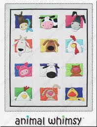 Animal Whimsy Quilt pattern by Amy Bradley Designs
