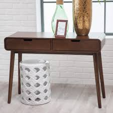unique small modern console table for tables with baskets american standard retrospect awesome your vanity legs