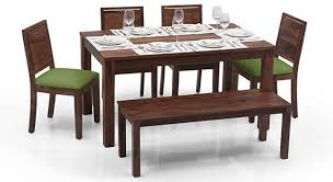 arabia oribi 6 seater dining table set with bench dining table a23 table