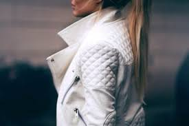 Jacket: white leather jacket, quilted, leather jacket, coat, blanc ... & jacket white leather jacket quilted leather jacket coat blanc perfecto white Adamdwight.com