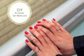 red carpet manicure review at home gel manicure at home shellac