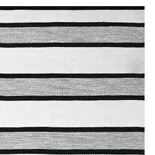 black outdoor rug black and cream striped outdoor rug