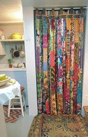 Small Picture Bohemian door bell curtain DIY style for doorway boho chic