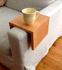 sofa table reclaimed wood couch sofa arm table tray design appealing sofa arm table