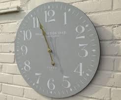 33 excellent idea large modern wall clocks interesting design decorative home clock kit red