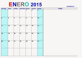 Calendarios Para Imprimir 2015 Calendario 2015 Para Imprimir Enero 2015 Calendars 2018