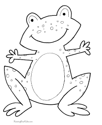These free online and printable coloring pages have pictures from assorted holidays, alphabets, circus, fairy tales, cars, nursery rhymes, numbers, pets, vegetables. Preschool Shape Coloring Pages Coloring Home