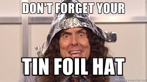 Image result for tin foil hat pics