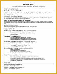 Inspirational Sample Sports Resume Template And Journalism Awesome