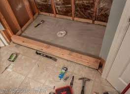 diy tile shower tile shower before and after love pasta and a tool belt tiling a