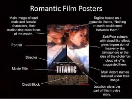 romantic movie poster movie posters codes and conventions