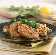 pork medallions with lemon garlic sauce