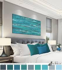 long horizontal canvas wall art over