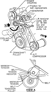 buick lesabre diagram a serpentine belt everything works