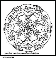 Free Mandala Coloring Pages Animals For Adults Best Online Pokemon