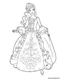 Coloriage Princesse Disney Barbie 2 Dessin