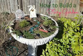 how to build a fairy garden. As How To Build A Fairy Garden