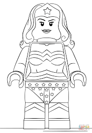 Small Picture Lego Wonder Woman coloring page Free Printable Coloring Pages