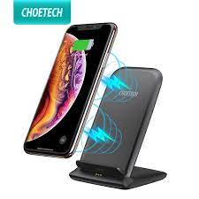CHOETECH 10W Đế Sạc Không Dây Cho iPhone Xs Max Xr X Nhanh Sạc Không Dây  Chuẩn Qi Sạc Cho Samsung s9 Xiaomi Mi Mix 3|Wireless Chargers