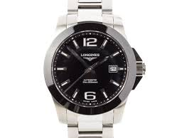 "longines conquest gents watch prestige online store luxury watches longines ""conquest"" gents watch £200 00 off"