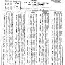 Soal tes kecermatan angka hilang pdf. Lembar Jawaban Tes Kecermatan Polri Pdf Dunia Sosial