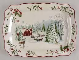 winter forest seasonal table