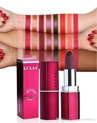 <b>LULAA Matte Lipstick</b> Rouge A Levre Listicks 3.5g <b>Lip</b> Gloss ...