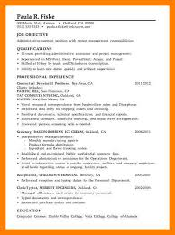 Examples Of Administrative Resumes Amazing 48 Administrative Skills Example Time Table Chart