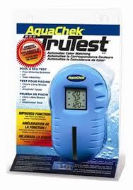 Aquachek Select Color Chart Aquachek Trutest Digital Test Strip Reader