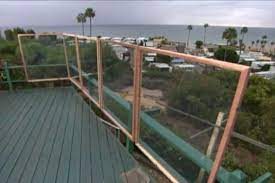 to build a wind screen for your deck