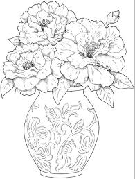 You can also use printable flowers coloring worksheets as an educational tool and teach your child the names of particular plants. Flower Coloring Pages For Adults Printable 101 Coloring